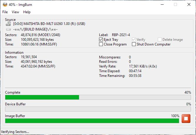 Verbatim VERBAT-IMk-000 Panasonic UJ-260 13