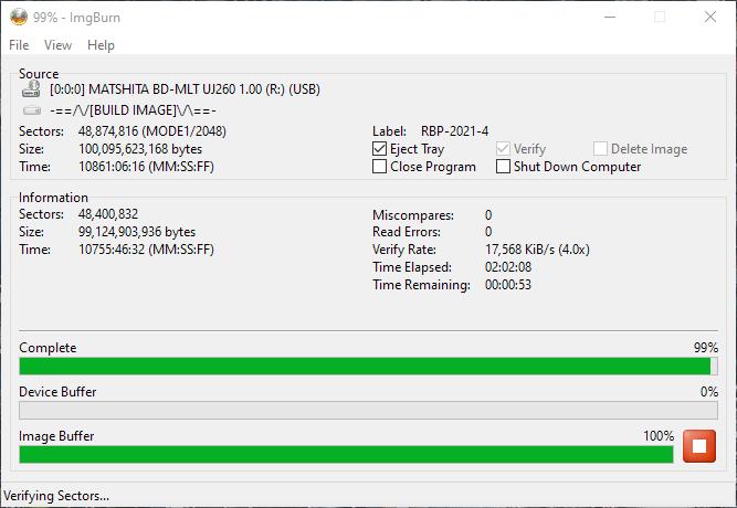 Verbatim VERBAT-IMk-000 Panasonic UJ-260 17