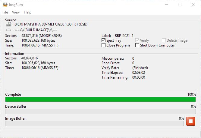 Verbatim VERBAT-IMk-000 Panasonic UJ-260 18