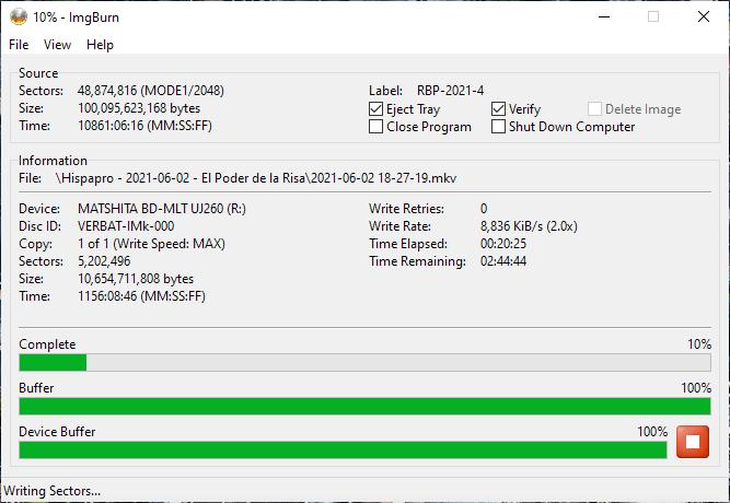 Verbatim VERBAT-IMk-000 Panasonic UJ-260 2