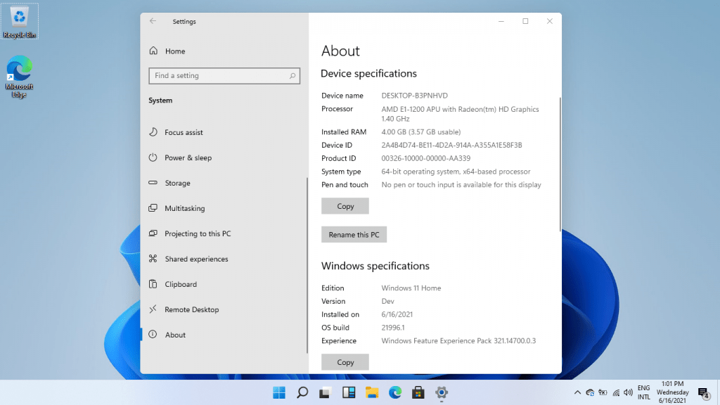 Windows 11 Desktop 3