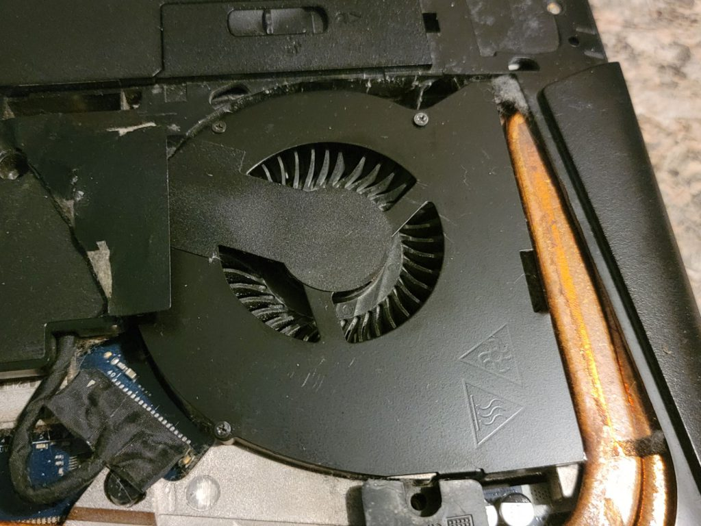Lenovo Y510p Replacement Fan from Rangale 5