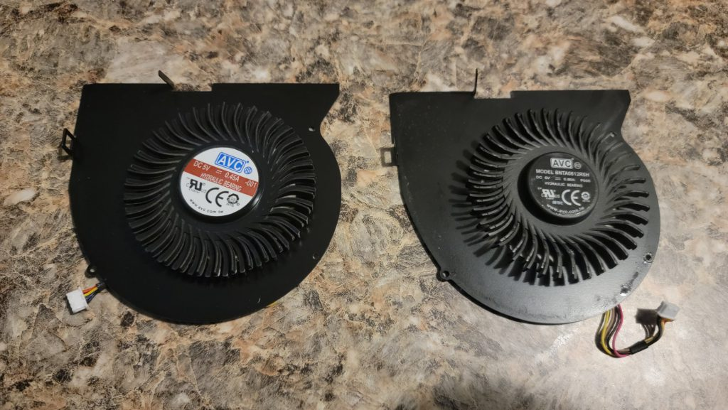 Lenovo Y510p Replacement Fan from Rangale 7