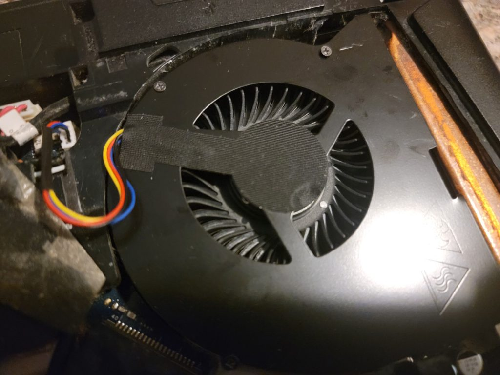 Lenovo Y510p Replacement Fan from Rangale 8
