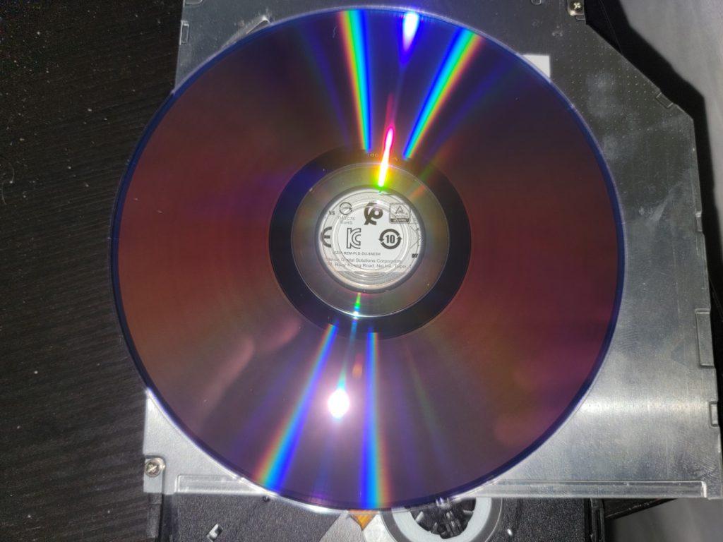 PlexDisc DVD+R on LiteOn (PLDS) DU-8A5LH 4