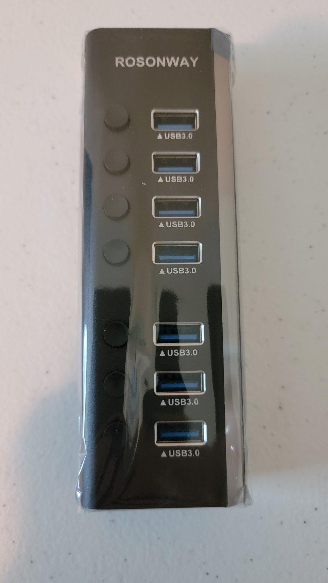 Rosonway 7-Port USB 3.0 Hub 8