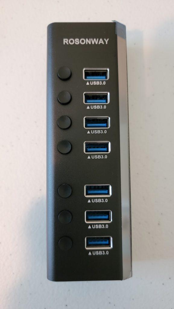 Rosonway 7-Port USB 3.0 Hub 9