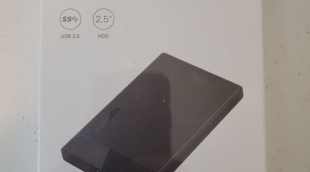 UGREEN 2.5 HDD to USB 3.0 Enclosure 1