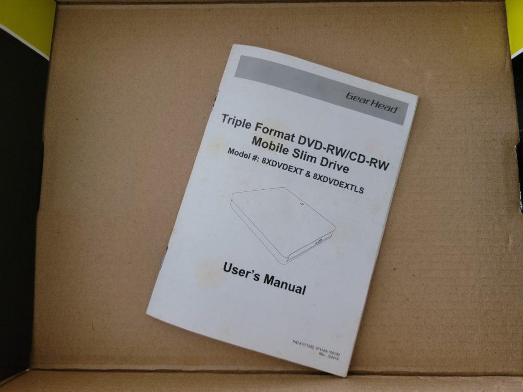 Gear Head Triple Format Mobile Slim External DVD Drive 5