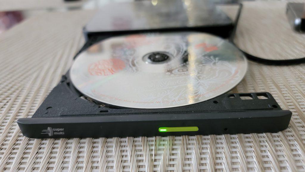 Hiby R3 with LG GP96YB70 Audio CD 2