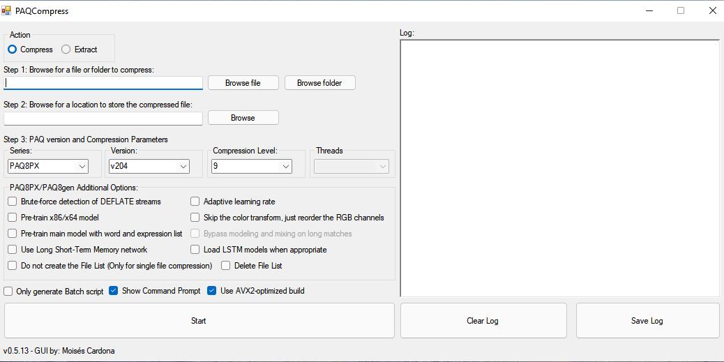 PAQCompress v0.5.13