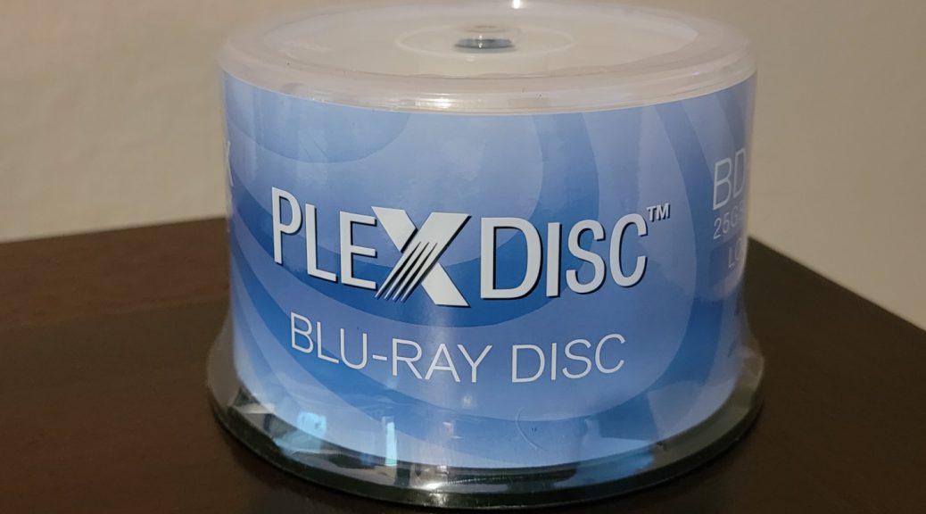 PlexDisc BD-R 50pk 1