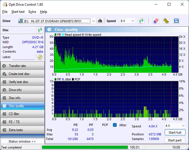 PlexDisc DVD+R LG GT80N (HP Version) 9