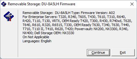 Corriendo la herramienta del firmware 6D5N de la unidad óptica LiteOn (PLDS) DU-8A5LH.
