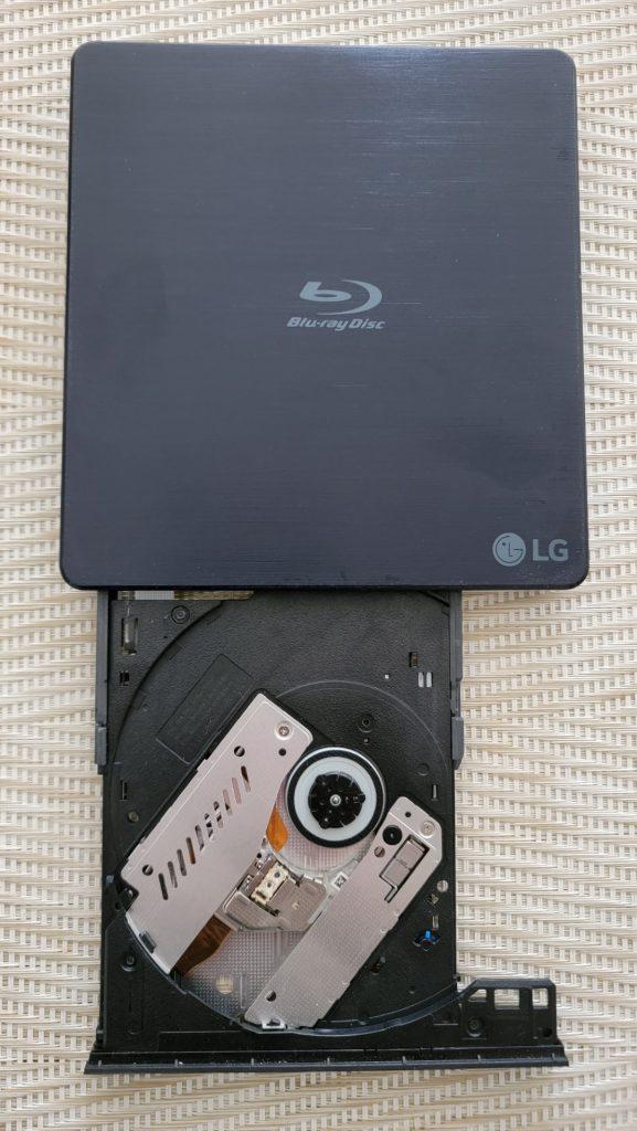 LG Ultra Slim Portable Blu-Ray Writer 15