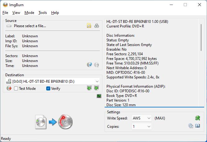 PlexDisc DVD+R LG BP60NB10 1