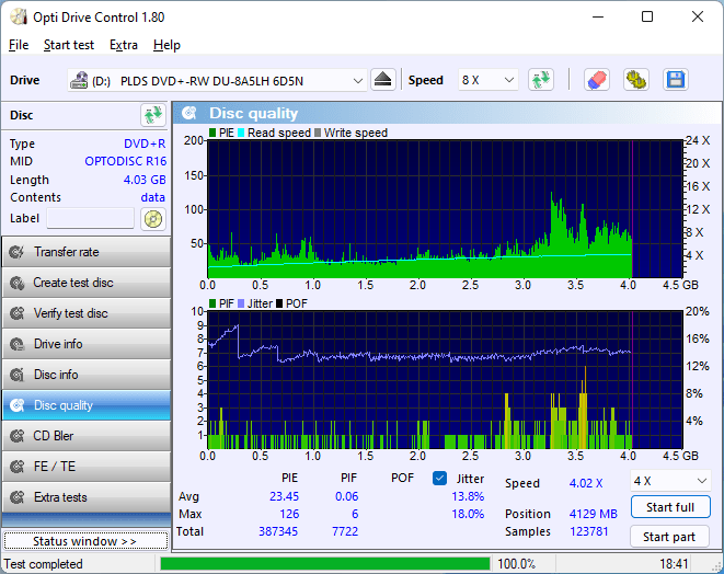 PlexDisc DVD+R LG BP60NB10 2.4x 12