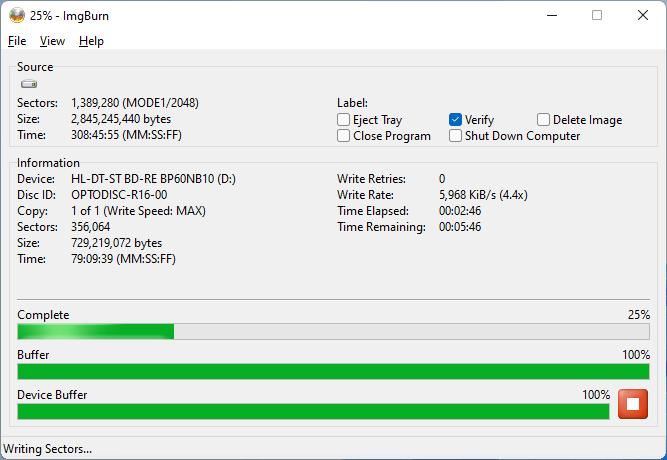 PlexDisc DVD+R LG BP60NB10 3