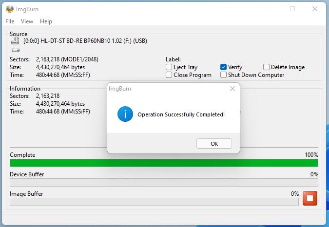 PlexDisc DVD+R LG BP60NB10 v1.02 11
