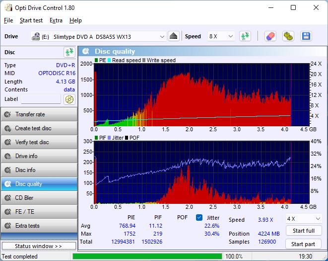 PlexDisc DVD+R LG BP60NB10 v1.02 13