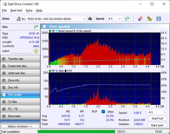 PlexDisc DVD+R LG BP60NB10 v1.02 15