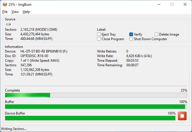 PlexDisc DVD+R LG BP60NB10 v1.02 3