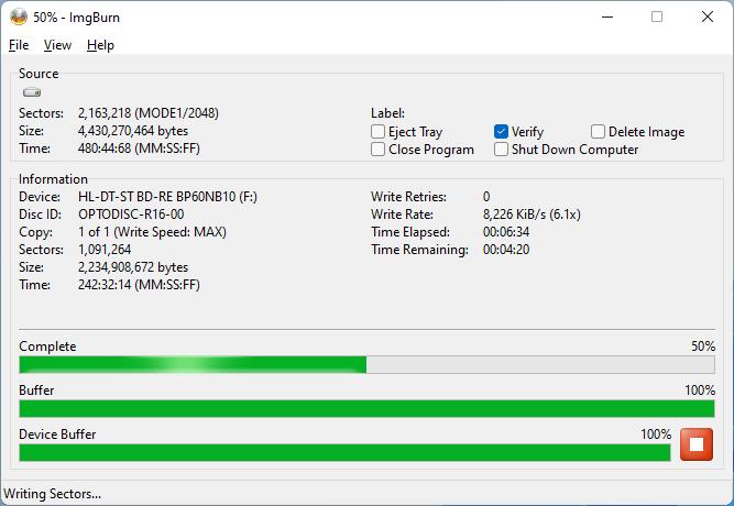 PlexDisc DVD+R LG BP60NB10 v1.02 4