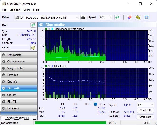 PlexDisc DVD+R LG GP96YB70 15