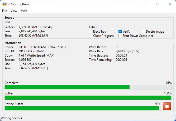 PlexDisc DVD+R LG GP96YB70 5