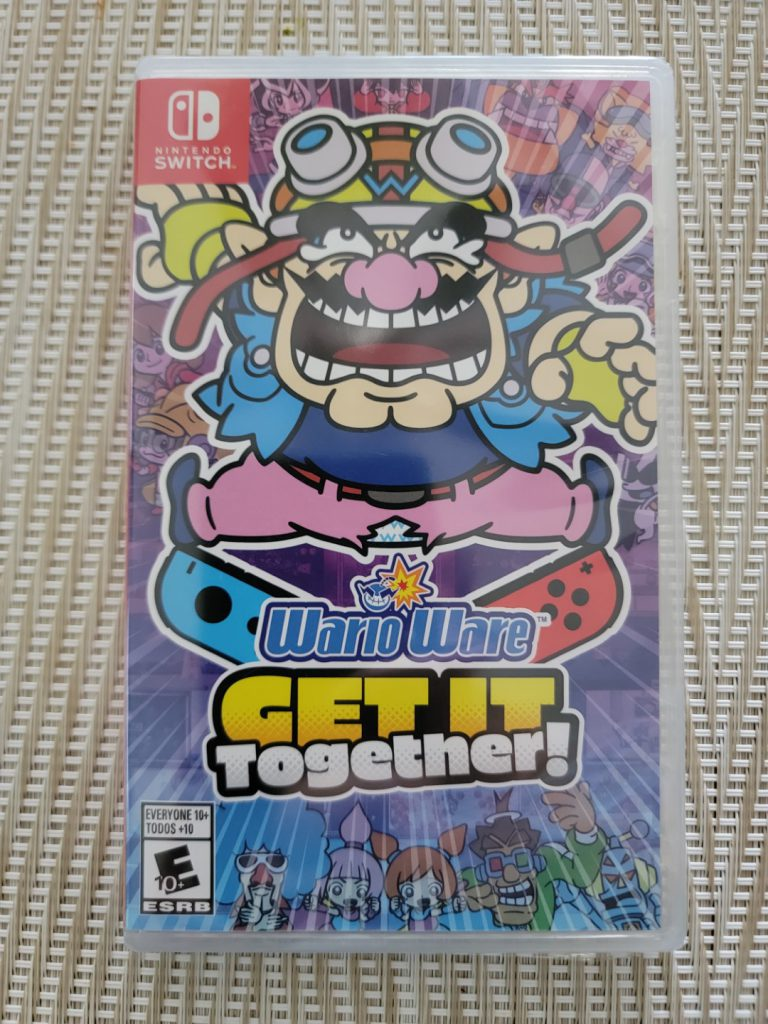 Front Box Art of the Nintendo Switch game Wario Ware: Get It Together