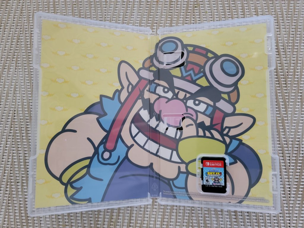 Inside Box Art of the Nintendo Switch game Wario Ware: Get It Together
