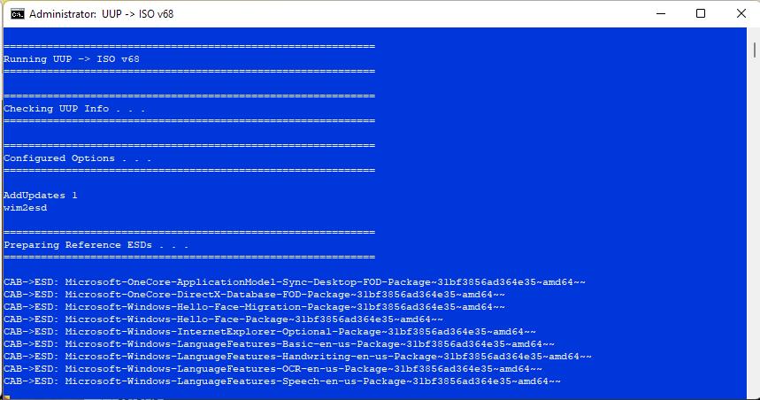 Windows 10 21H1 19043.1237 19