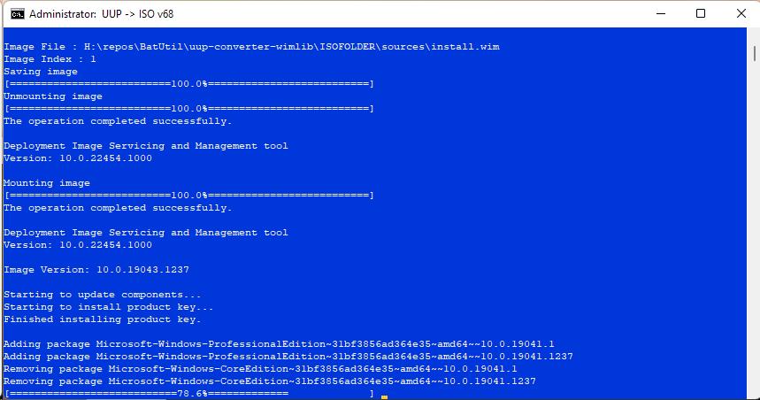 Windows 10 21H1 19043.1237 21