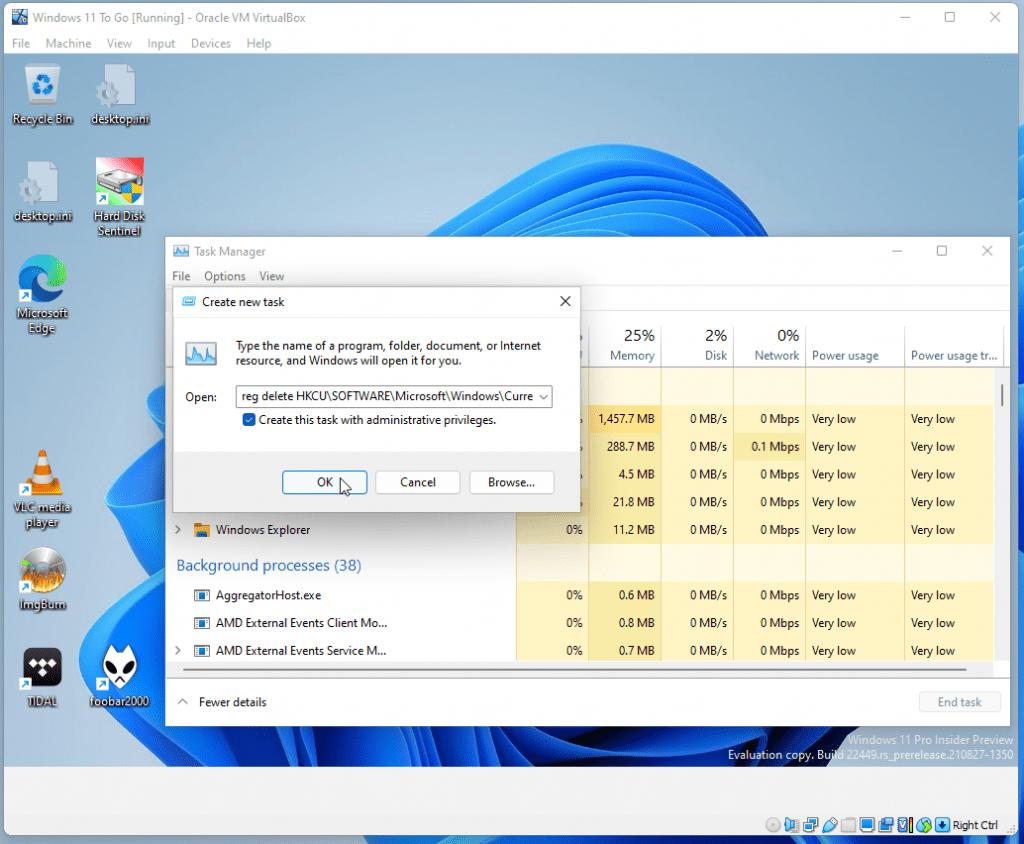 Windows 11 2249 issue 4