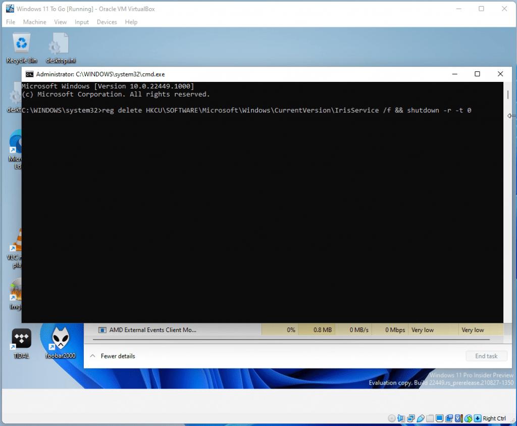 Windows 11 2249 issue 7