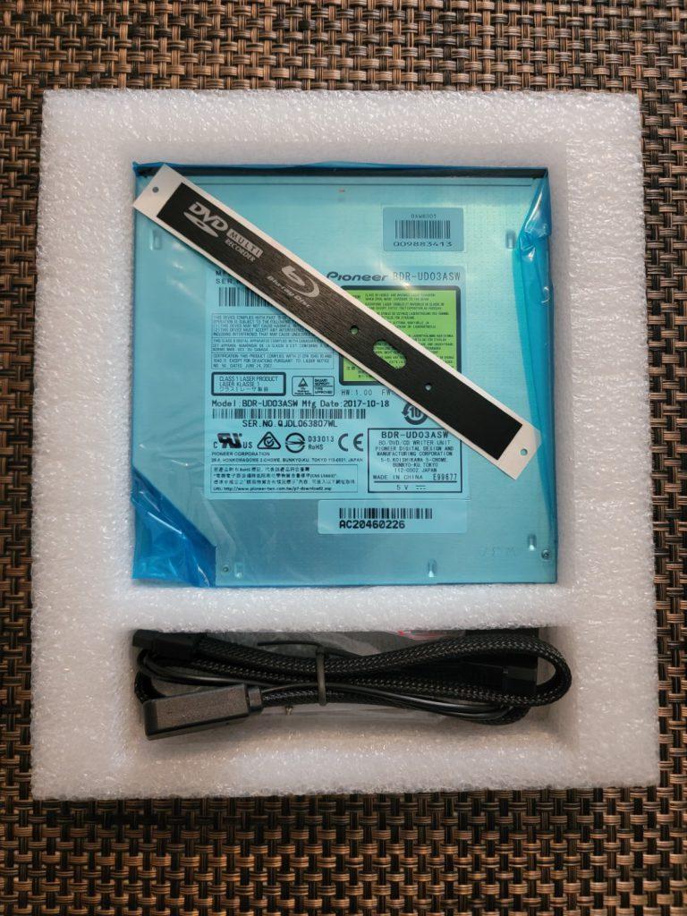SilverStone TOB04 9.5mm Blu-Ray Drive 3