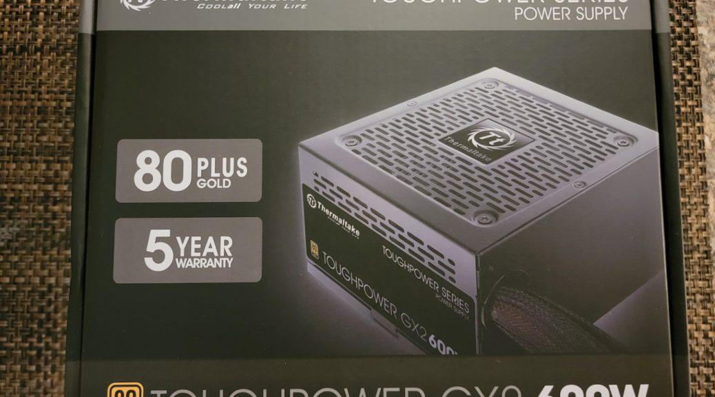 Thermaltake Toughpower GX2 600W PSU Box - Front